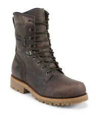 """Chippewa 8"""" Chocolate Waterproof Comp Safety Toe Insulated Mens Work Boots 73158"""
