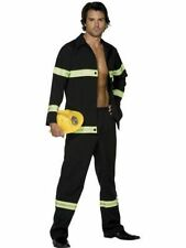 "Men's Sexy Fireman Fancy Dress Costume Emergency Services Outfit  38""-44"" Chest"