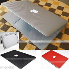 Carbon Fiber Skin Cover Soft Case Protector for Apple MacBook Air 11 A1465 A1370