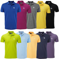 Sergio Tacchini Mens Short Sleeve Polo Shirt T-Shirt Top Heigham New