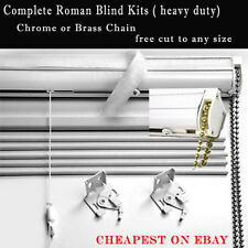 ROMAN BLIND COMPLETE KIT ( Everything Included ) heavy duty