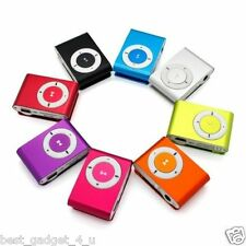 Mini Fashoin Clip Metal MP3 Music Player , Support 1 - 8GB SD Card + Free deliv