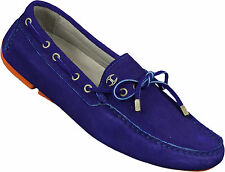 Just Cavalli Moccasin Boat Shoes Blue
