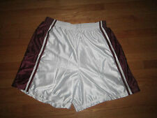BIG MENS BASKETBALL SHORTS HIGH 5 SPORTS WEAR SIZE 3XL LINED WHITE MAROON NWOT
