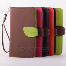 Leather Flip Card Clip Wallet For Samsung Galaxy Note 3 III N9000 Case Cover