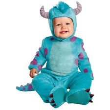 Sulley Classic Infant Costume Baby Monsters, Inc. Halloween Fancy Dress
