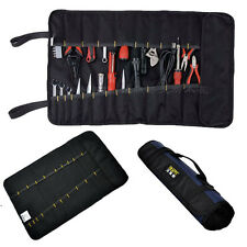 8/10/21 Pocket Roll-Up Pouch Canvas Spanner Wrench Tool Storage Bag Box Case New