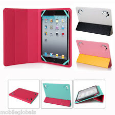 Double Side Folio Case Cover w/Stand for 7 8 Inch Tablet PC iPad mini / mini 2