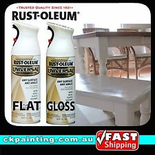 Rustoleum Countertop Paint Earth : RUSTOLEUM UNIVERSAL ALL PURPOSE SPRAY PAINT/WHITE/FL AT/GLOSS