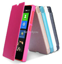 NILLKIN Sparkle PU Leather Flip Pounch Wallet Cover Case for Nokia X RM980