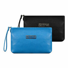 Love Moschino Faux Saffiano Leather Clutch Bag
