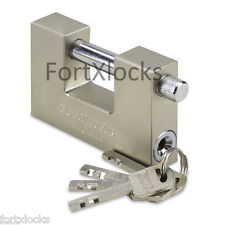 Container garage shed  shutter padlock 70mm or 90mm 4 or 10 keys