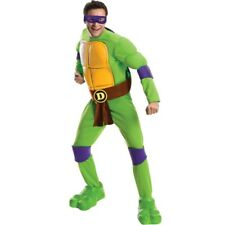Adult TV Show TMNT Teenage Mutant Ninja Turtles Don Donatello Deluxe Costume