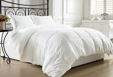 White Goose Down Alternative Bed Comforter Twin Full/Queen King Hypo- allergenic