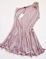 BNWT NEXT embellished stretchy jersey  knee one shoulder party tunic dress Sizes