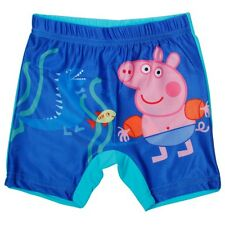 Peppa pig Swimwear boys shorts printed lovely pig logo blue comfortable fabric