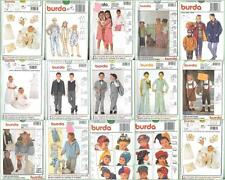Burda Sewing Pattern Children's Toddlers Infants Clothes & Accessories  You Pick
