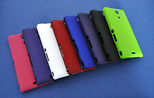 SONY XPERIA ZR M36H Colourful Capdase Hard Back Case Cover.