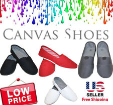 New Canvas Ballet Flats Slip on Espadrille Loafer Women Shoes SPECIAL Only $8.39