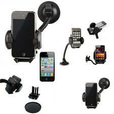 2 IN 1 Universal Long Arm Suction Mount Air Vent Car Holder For Various Phones
