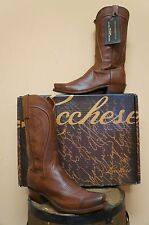 MENS LUCCHESE COWBOY WESTERN BOOTS! 1883! N1596.74! SOFT CAFT SKIN!