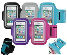 Sports Running Jogging Gym Workout Armband Case iPhone 4 4S 5 5S 5C iPod Touch