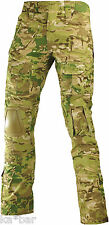 XS S M L XL NATO ARMY WAIST MULTICAM MTP TROUSERS PANTS AIRSOFT KNEE PADS