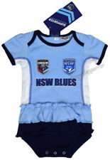 NSW State of Origin Girls Baby Footysuit Onesie 'Select Size' 000-1 Shirt NRL