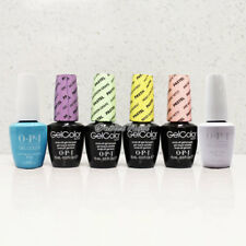 OPI GelColor The PASTELS COLLECTION SET All 6 Shades / Base Top Coat Kit