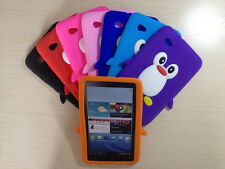 "Penguin Silicone Case Cover For Samsung Galaxy Tab 2 7"" P3100 P3110 P6200 table"