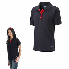 GUIDE POLO PLAIN NAVY RED UNIFORM SHIRT OFFICIAL GIRLS CLUB KIDS FREE DELIVERY