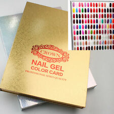216 Tips Professional Gel Polish Display Book Chart for Nail Art Design Manicure