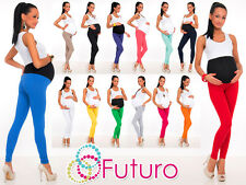 Full Length Maternity Leggings ♥ Pants With Pockets High Waist Sizes 8 - 22 LCK
