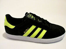 Juniors New ADIDAS GAZELLE 2 J Black Suede Trainers G97371