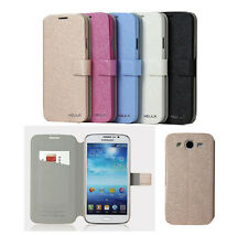 Luxury Leather Case With Card Holder For Samsung Galaxy Mega 5.8 I9152 I9158