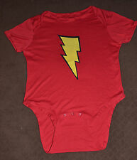 Custom Handmade  Red Adult Baby Romper Costume One-piece Snap Closure ABDL