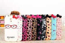 Cute 3D Bow Bowknot Hello Kitty Soft Back Case Cover for Samsung Galaxy S4 I9500