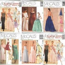 McCalls Sewing Pattern Misses Evening Elegance Formal Evening Gown Dress U Pick