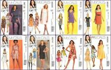 McCalls Sewing Pattern Hilary Duff Dress Misses Size 4 6 8 10 with 12 You PIck