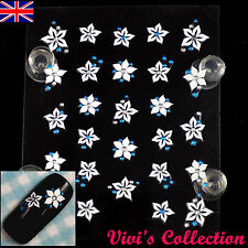 3D Nail Art Stickers Self Adhesive Nail Tips Stickers Rhinestone Luminous