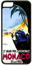 Monaco Grand Prix 1933 HD Quality Cover/Case For iPhone 5C Vintage Poster Gift