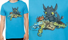 """Toothless: Story Time"" How To Train Your Dragon 2 Unisex T-Shirt Free Ship"