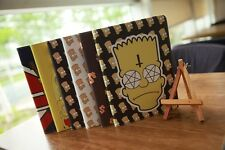 New Cartoon Simpsons Leather Smart Cover Case Stand for iPad Air/  iPad mini 1 2