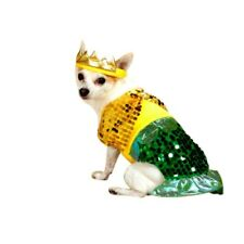 Mermaid Sequin Dog Costume XS S  L - Pet Puppy Clothes Chihuahua Dress  Party