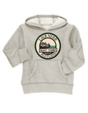 GYMBOREE LOCH NESS HEROES GRAY BOAT TOUR HOODY 4 5 6 7 8 10 12 NWT