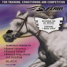 FLAIR NASAL STRIPES horse evening competing nose strip - easy breathing recovery