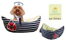 PETIT MARIN SMALL DOG, PUPPY BED NOVELTY BOAT OR DONUT