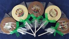 WILLY WONKA BAR/TICKET CHOCOLATE LOLLIPOPS CAKE TOPPERS/SWEETS PARTY BAG FILLERS