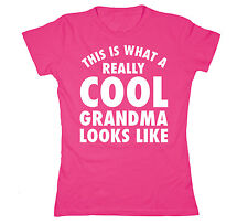 This Is What A Cool Grandma Looks Like Mother's Day Mimi Gigi Womens T-Shirt