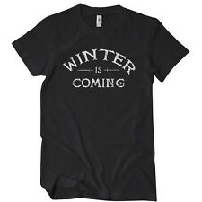 Womens WINTER IS COMING TSHIRT Super Soft GAME OF Gimp Tee Stark Show TV Thrones